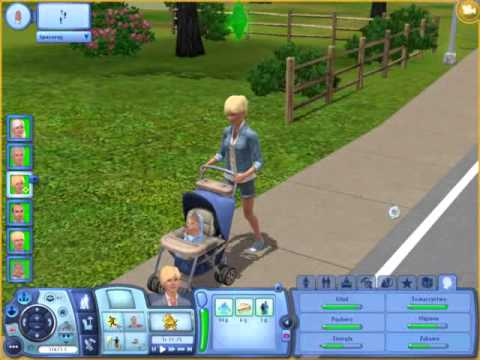 The sims 3 pokolenia spacer w w zku youtube for Schaukelstuhl sims 3