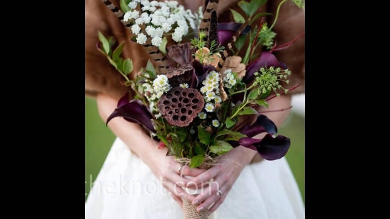 Lotus Pod Bridal Bouquet Youtube