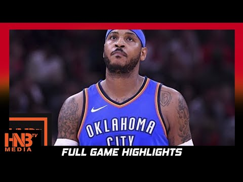 Oklahoma City Thunder vs Denver Nuggets Full Game Highlights / Week 4 / 2017 NBA Season