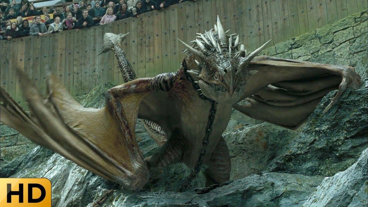 Гарри против Дракона. Гарри Поттер и Кубок огня. - YouTube