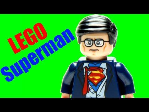 LEGO Batman The Movie DC Super Heroes Unite & Clark Kent Minifigure Review