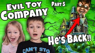 Evil Toy Company Pt 5 Back To The Abandoned Orphanage to find Squeazy Toys' Evil Plan!!!