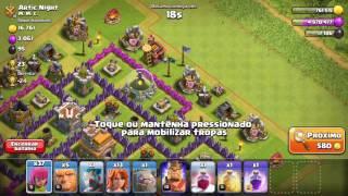 Clash of Clans: finalizando o evento das Valquírias e consegui a rainha arqueira!!