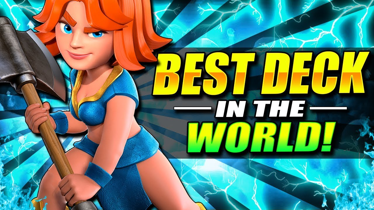 World S Strongest Deck Best Deck In Clash Royale Right Now