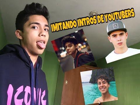 """""""IMITANDO YOUTUBERS""""/ Javier López"""