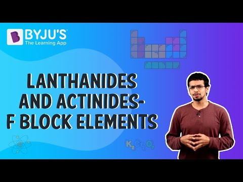 Actinides Properties and Differences with Lanthanides