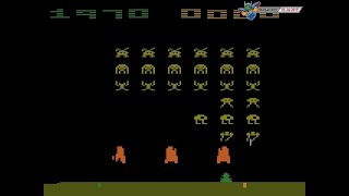 Space Invaders (1980, Atari 2600) - 4780 Points [720p60]