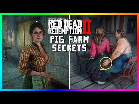 The UNTOLD SECRETS Of The Aberdeen Pig Farm That You DON'T Know About In Red Dead Redemption 2!