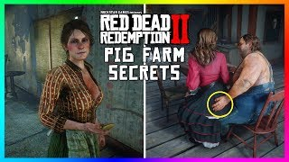 the untold secrets of the aberdeen pig farm that you dont know about in red dead redemption 2