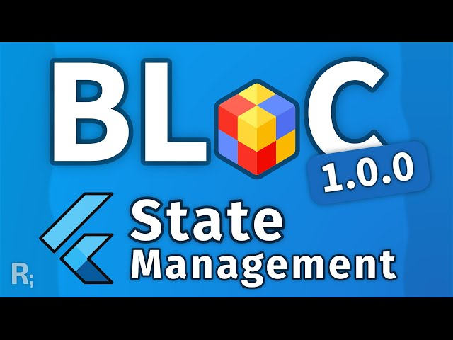 Flutter Bloc Library Tutorial (1.0.0 and Up) – Reactive State Management Crash Course