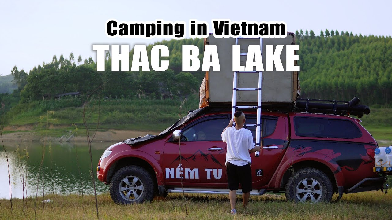 Camping Thac Ba Lake in Vietnam - Best view on summer
