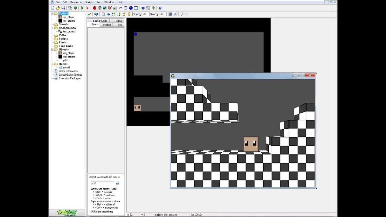 Game Maker 3d Models Download Makeserviceo