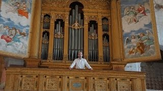 Cavazzoni - Lucis Creator Optime (organo Antegnati, Chiesa di San Nicola, Almenno San Salvatore)