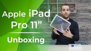 "Apple iPad Pro 11"" and Smart Keyboard Folio unboxing!"
