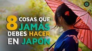 8 Cosas que JAMÁS debes hacer en Japón