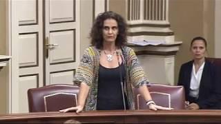 Asun Delgado (Podemos) sobre la II Fase de la Carretera de Agaete-La Aldea