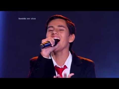 Christian cantó corazón en la maleta de L. Fonsi - LVK Col – Audiciones a ciegas - Cap 18 – T2