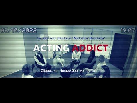 ACTING ADDICT - Court-Métrage d'anticipation d'Eddy Creuzet