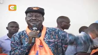Raila drums up support for his ODM party in Narok