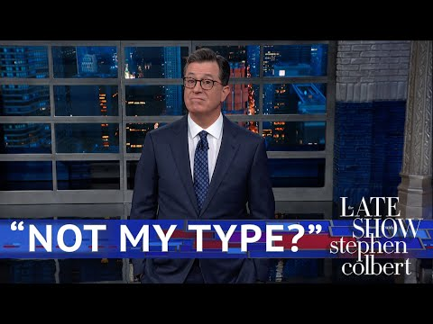 Trump's 'she's not my type' response to assault accusation gets roasted by Stephen Colbert