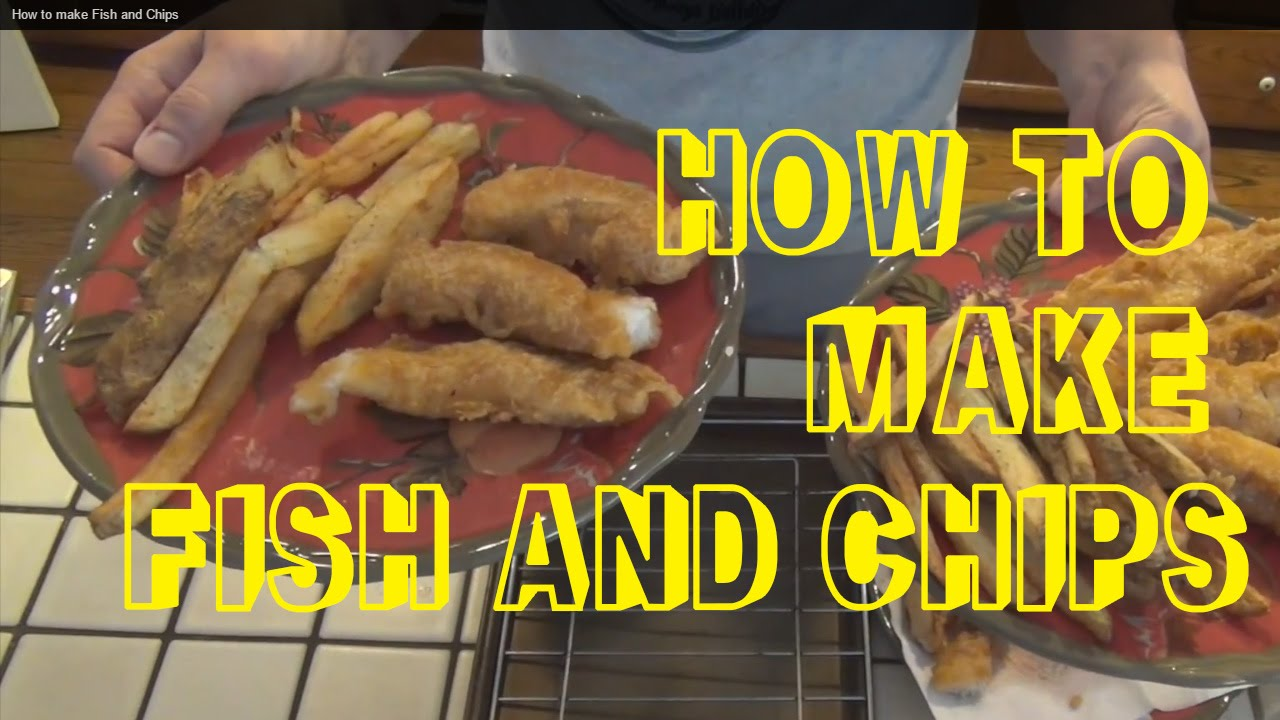 How to make fish and chips baja style youtube for How to make fish and chips