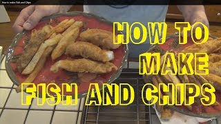How To Make Fish And Chips (baja Style)