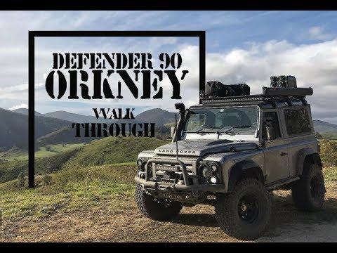 Defender 90 Orkney - Defender 90 Orkney Walkthrough