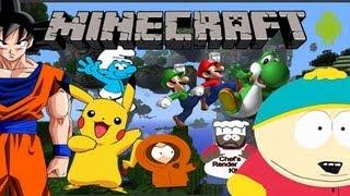 minecraft pixel art montage