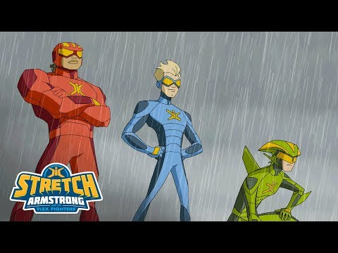 Stretch Armstrong and the Flex Fighters - 'Superheroes of Charter City' Official Trailer
