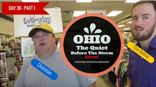 Day # 30 of 32: Part 1 - The Quiet Before The Storm! ( Savers Grand Opening Sale )