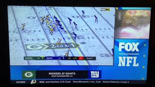 NFL on FOX Today Game Break Update: Packers @ Giants on FOX