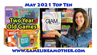 Game Like a Mother Top Ten May 2021: Two Year Old Games