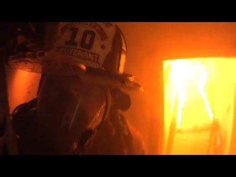 Firefighter Helmet Cam Clearbrook VA Structure Fire