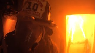 Firefighter Helmet Cam Clearbrook VA Structure Fire