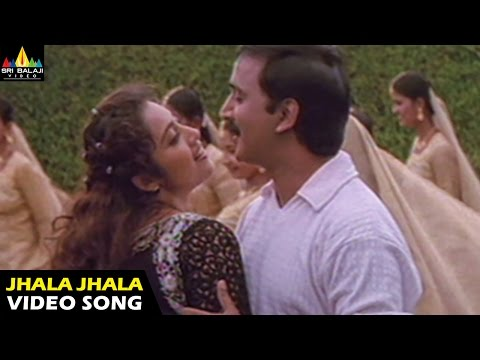 Rhythm Songs | Jhala Jhalamani Ponge Video Song | Arjun, Jyothika, Meena | Sri Balaji Video