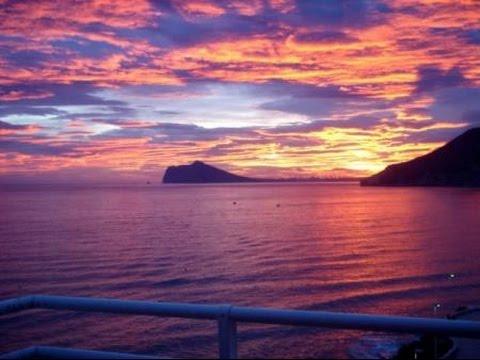 Nouveaut s espagne coucher de soleil sur la mer plus - Les plus beaux coucher de soleil sur la mer ...