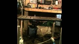 Adjustable Height Tig/mig Welding Table