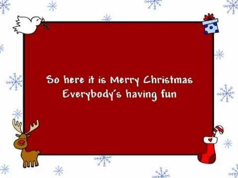 Merry Christmas Everybody (with lyrics)