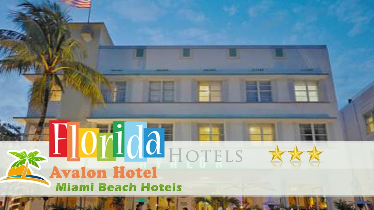 Avalon Hotel Miami Beach Hotels Florida