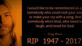 Gregg Allman My Only True Friend