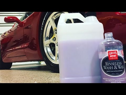 My New Favorite Drying Aid | Griots Garage Rinseless Wash&Wax Review | vs CarPro Ech2o