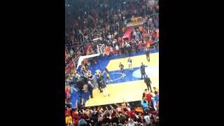 GALATASARAY fenrbahçe basketbol maçı 09.12.2013 abdi ipekçi MAç SONU