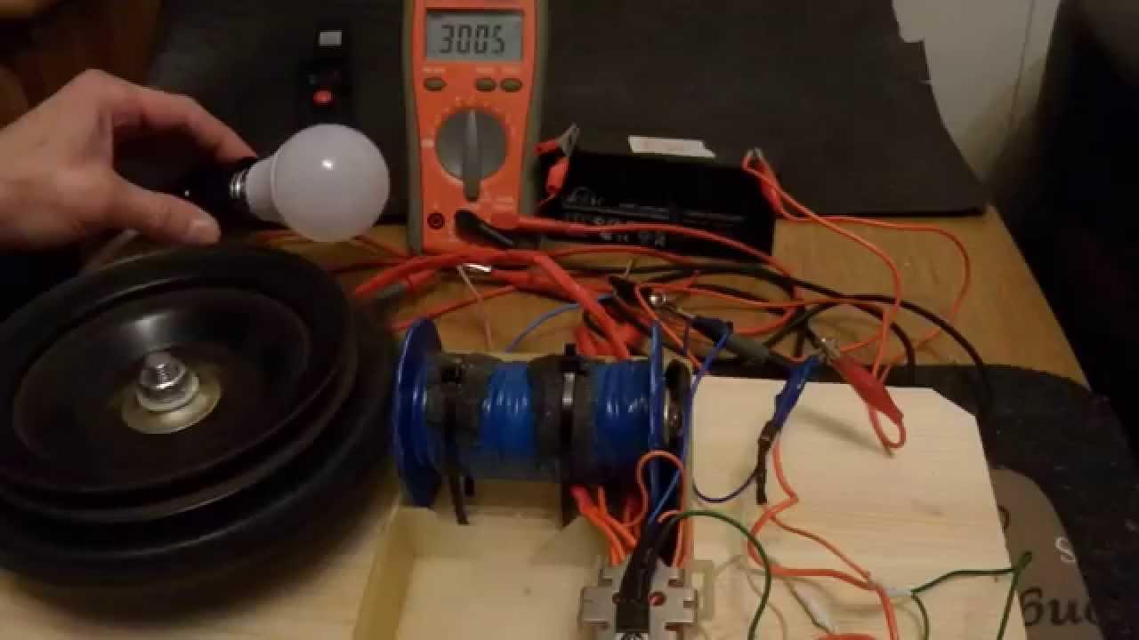 магнитный генератор тока