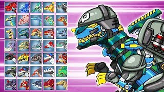 Dino Robot Battle Arena: T-Rex Soldier Striker (Assembly + Fights) | Eftsei Gaming