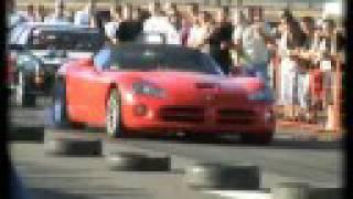 Audi S2 Coupe [9.87@242] Vs. Dodge Viper 8.6 V10 Drag Race