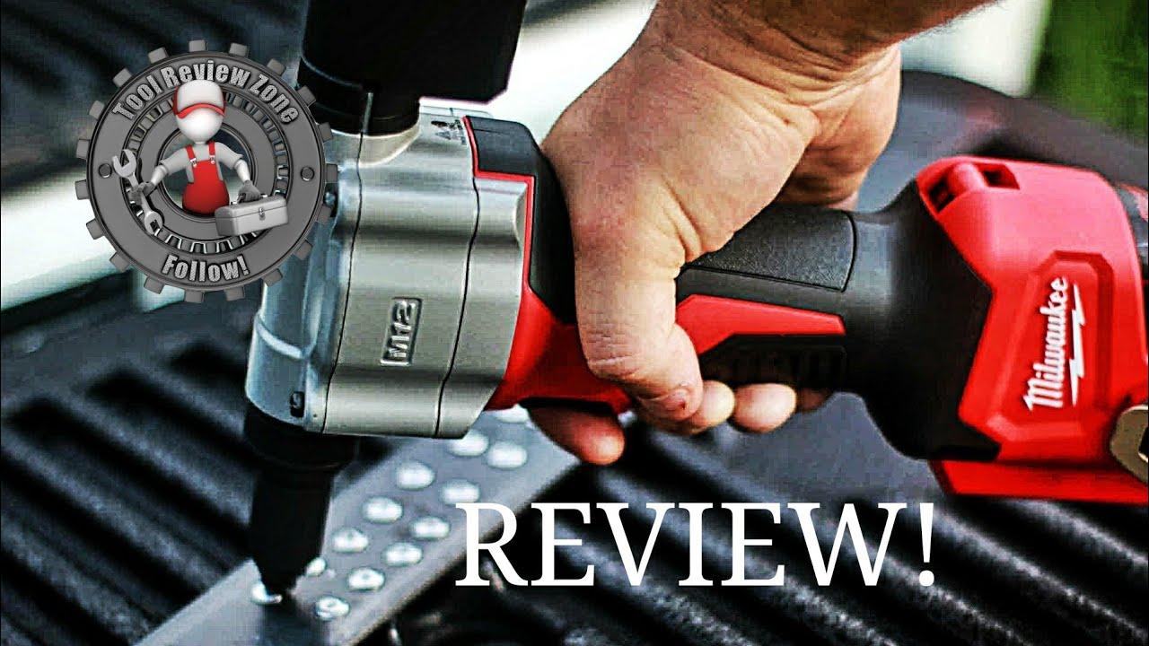 Milwaukee M12 12 Volt Cordless Rivet Gun REVIEW! (2550-22)