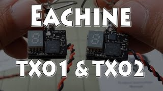 Eachine Tx01 & Tx02 Aio Fpv Review