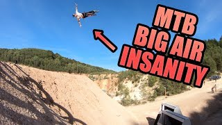MTB BIG AIR INSANITY - LANDING NEW TRICKS