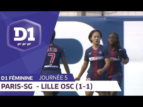 J5 : Paris SG - Lille OSC (1-1) / D1 Féminine