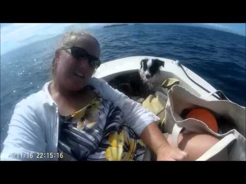 sail from West End Roatan to Cayos Cochinos in the Bay Islands
